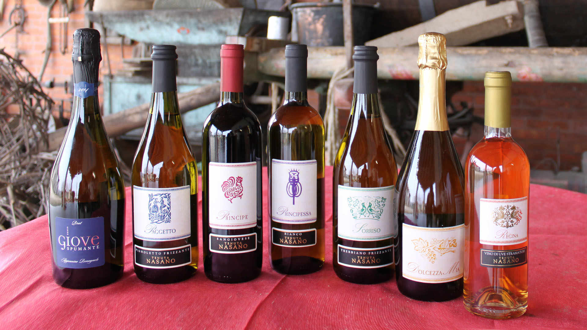 Nasano Farm: Wine and Other Delights